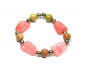AKA Pink&Green Bracelet