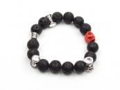 Black Tee Men's Bracelet