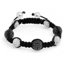 Black and White Shamballa