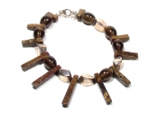 Brown Crown Bracelet