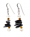 Linear Apache Earrings