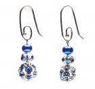 Starlights Blue Earrings