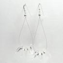 White Light Earrings