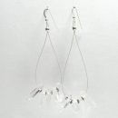 White Light Earrings