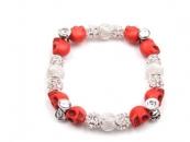 White Tee Men's Bracelet