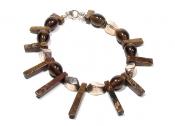 Brown Crown Bracelet