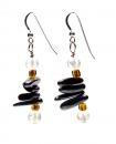 Linear Apache Earrings